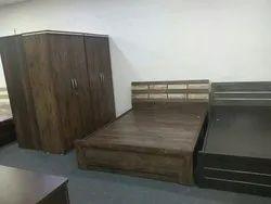 Oak Wood Bedroom Sets, Warranty: 3 Year