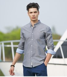 Cotton Linen Casual Shirts, Size: 40