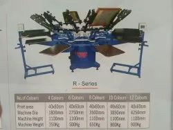 Manual Color Coated Chest Printing Machines