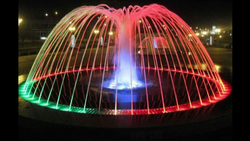 G.I,S.S Multicolor Ring Fountain