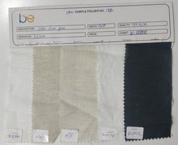 COTTON /LINEN PLAIN FABRIC