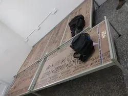 Standard White Hostel Single without Head Board Bed, Warranty: 1 Year, Size: 6 X 3 Feet