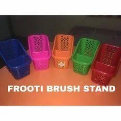 Ashapura Plastic Optional Plastic Toothbrush Stand, For Toothbrush Holder