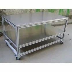 Industrial Aluminium Table