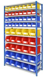 Plastic Bin Storage Racks