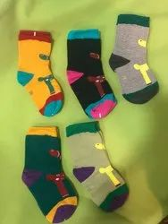 Anckle Bonjour Kids Cotton Ankle Socks, Packing Type: Packet