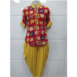 Cotton Kids Stylish Salwar Suit