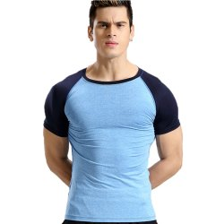 Zesteez XL Mens Printed Stretchable Gym T Shirt