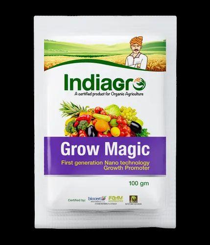 organic agriculture product - Indiagro Grow Magic 100 Gms Wholesaler