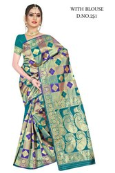 Fancy Banarasi Silk Saree