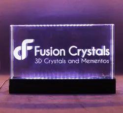 Crystal Transparent Decorative Item For Office Decoration
