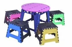 Central Stool with Medium Stool