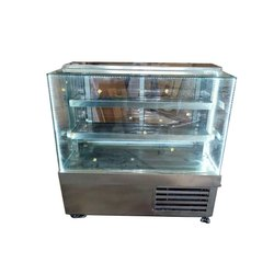 3 Shelves Stainless Steel Display Counter