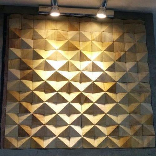 Earthstona Modern 3D Stone Wall Cladding, Thickness: 5-12