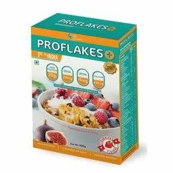 Proflakes Fortified Protein Supplement Corn Flakes, Pack size :250 G