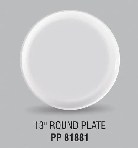 Swift 13 Inches Plastic Plate Round