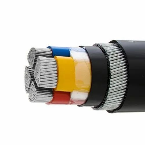 Polycab PVC 4 Core Electric Cable, for House Wiring