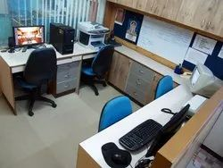 COMPACT OFFICE INTERIOR