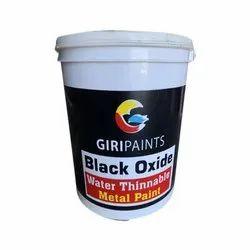 Matt Water Thinnable Black Oxide Metal Paint, Packaging Type: Bucket, Packaging Size: 1 L
