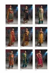 ganga suit dress material for ladies