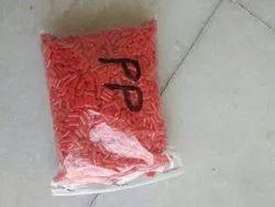 Plastic Red Granules