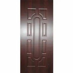 Narayani Woods Brown Glossy Finish Wooden Sunmica Door, Thickness: 25-30mm