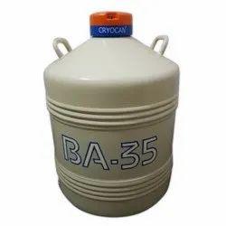 Plastic Liquid Nitrogen Container