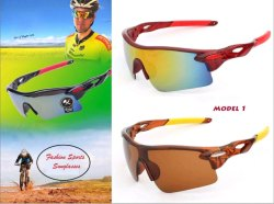 Male Mix colour Sports Sunglasses