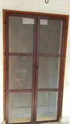 Aluminium Mosquito double door