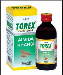 Plastic Torex Cough Syrup, for Dry Cough