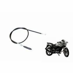 Two Wheeler TVS Bike Clutch Cable, Size: 1-2 m