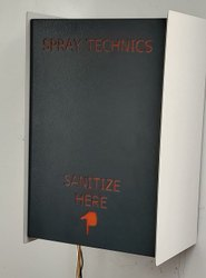 Powder coated Automatic Sanitizer Dispenser