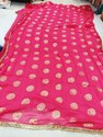 Pink Bridal wear Fancy Sarees