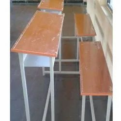 3 Seater School Bench And Desk