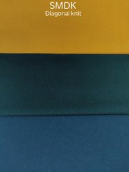Interlock Diagonal Knit Lower Polyester Fabric, For Garments, GSM: 200-250 GSM