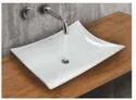 Mozio Italian Ceramic Vanada Table Top Wall Hung Basin, For Home, Model Name/number: V7000