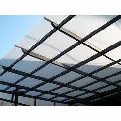 White Polycarbonate Roofing Sheet