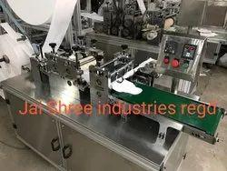 JSI Single Sanitary Napkin Glue Attach Automatic Machine