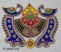 Designer Acrylic Peacock Rangoli