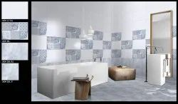 300x450 3D Gloss Bathroom Wall Tiles