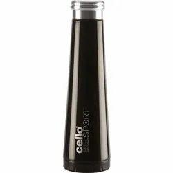Silver 500 ML Cello Glass Water Bottle