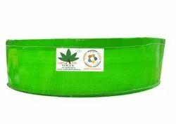 Organic Vogue Green Round Hdpe Grow Bags, For Gardening