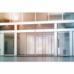 Automatic Sensor Aluminium Sliding Door