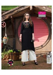 New Kurti with Palazzo for Ladies Wear