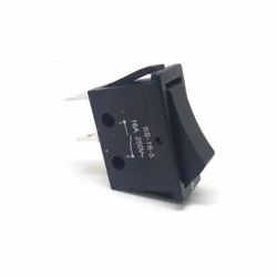Rocker Switch On-on 16a 250v AC Panel Snap In SS-162-D