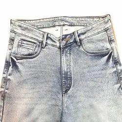 Regular Fit Mens Denim Casual Jeans, Waist Size: 36.0
