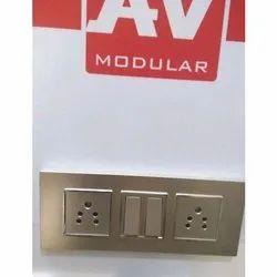 AV Modular Switch Socket Board