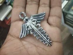 Doctor Logo Keychain, 6mm