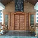 Lrf Teak Wood Double Door