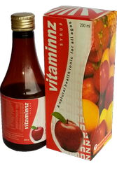 Mixed Fruit Vitaminz Syrup 200 ml (Multi Vitamin Syrup)